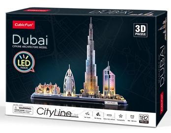 Cubicfun 3D Puzzle Dubai 182pcs