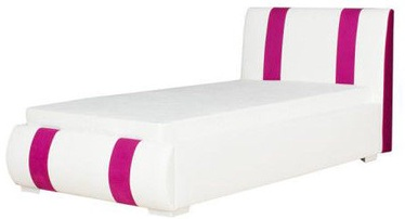 Bodzio Bed Aga 28S/W9 White/Pink
