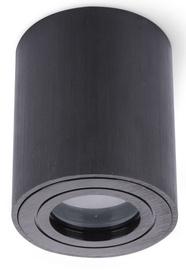 Kobi Aquarius Round Ceiling Lamp GU10 Black