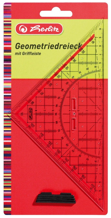 Herlitz Geometry Set Square Big 08700254