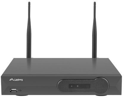 Lanberg Surveillance Kit NVR Wifi 4 Channels + 4 Cameras