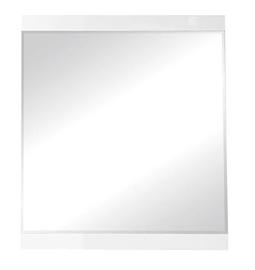 Black Red White Boca Mirror 80x90cm White