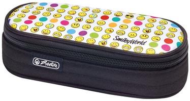 Penalas, Herlitz Pencil Pouch Case Airgo World Rainbow Faces