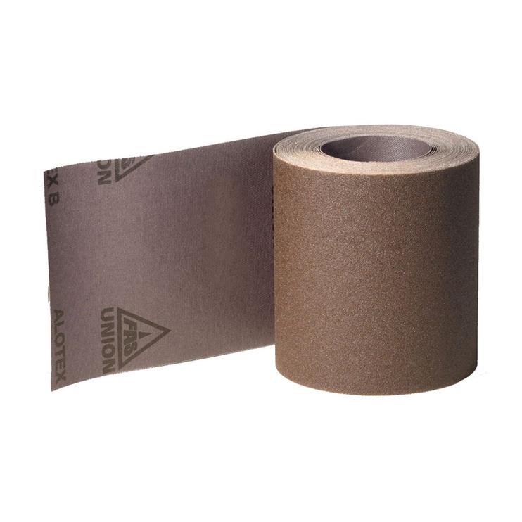 Šlifavimo popieriaus ritinys Klingspor, NR60, 120x25000 mm