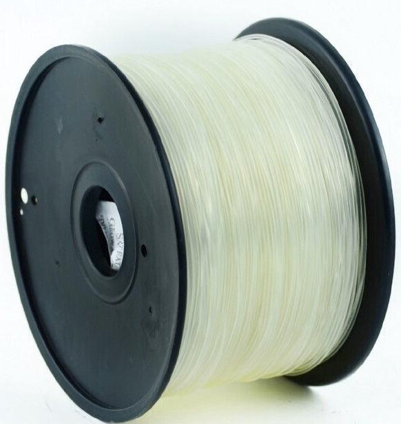 Расходные материалы для 3D принтера Gembird 3DP-ABS, 400 м, прозрачный