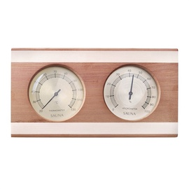 Flammifera AP-041BW Sauna Thermometer with Hygrometer