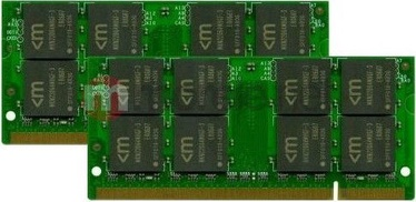 Mushkin Apple 4GB 667MHz CL5 DDR2 SO-DIMM KIT OF 2 976559A