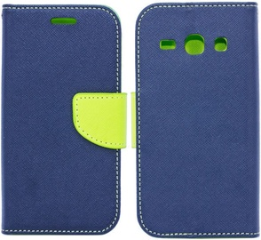 Telone Fancy Diary Bookstand Case For Samsung Galaxy A3 A320F Blue/Light Green