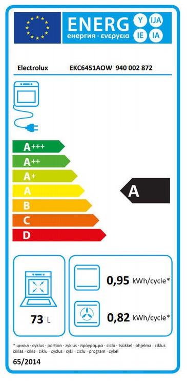 Elektripliit Electrolux EKC6451AOW White