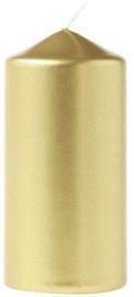 Eika Pillar Candle 11x6cm Gold