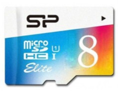 Mälukaart Silicon Power Elite, 8 GB