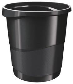 Esselte Vivada Trash Bin 14l Black
