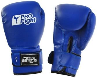 Boksa cimdi ProFight PVC, zila, 10 oz