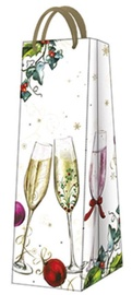 Paw Decor Collection Gift Bag Happy New Year 12x37x10cm