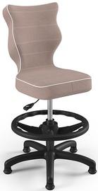 Детский стул Entelo Petit Black HC+F Size 3 JS08, черный/кремовый, 300 мм x 895 мм