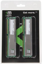 Mushkin Enhanced Silverline 2GB 400MHz CL3 DDR KIT OF 2 996754