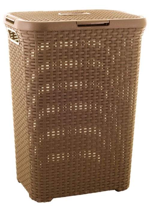 Curver Natural Style with Lid 60l Brown