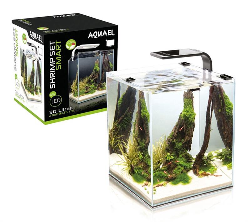 Akvariumas krevetėms auginti Aquael, 30 l