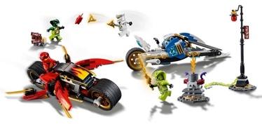 Konstruktor LEGO Ninjago Kai's Blade Cycle & Zane's Snowmobile 70667