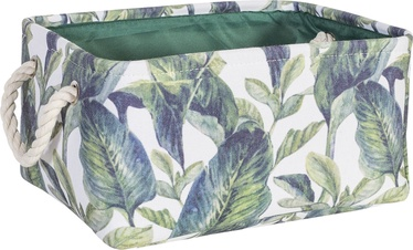 Home4you Tropic 4 Basket 35x25xH16cm Tropic Leaves 83594