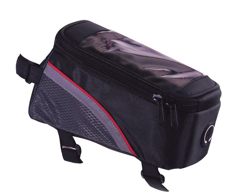 Krepšys dviračio rėmui su telefono dėklu Ferts FSBFB-147, 19,5 x 9 x 10,1 cm
