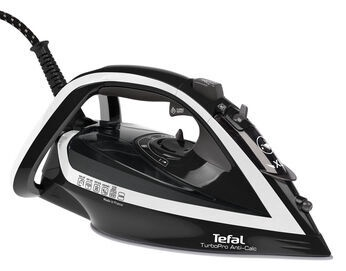 Утюг Tefal Turbo Pro FV5645E0, белый/черный