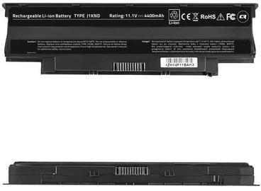 Аккумулятор для ноутбука Qoltec Long Life Notebook Battery For Dell Vostro 13R 4400mAh