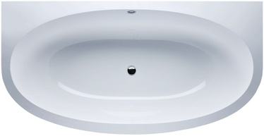 Vispool Gemma 2 Bath with Syphon White 195x101