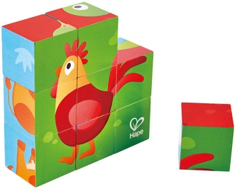 Hape Farm Animal Block Puzzle E1618A