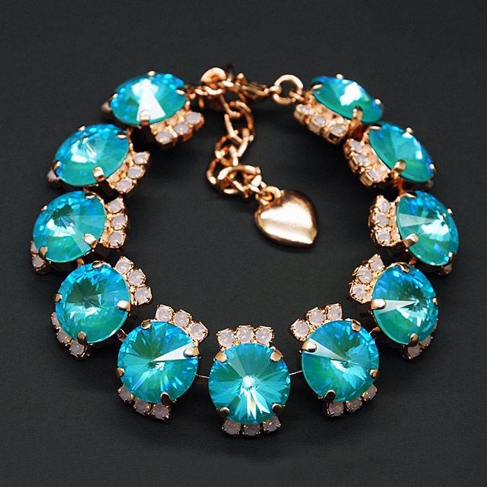 Diamond Sky Bracelet Clarice V With Swarovski Crystals