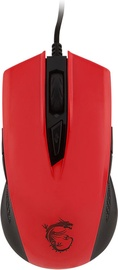 MSI Clutch GM40 Gaming Mouse Red