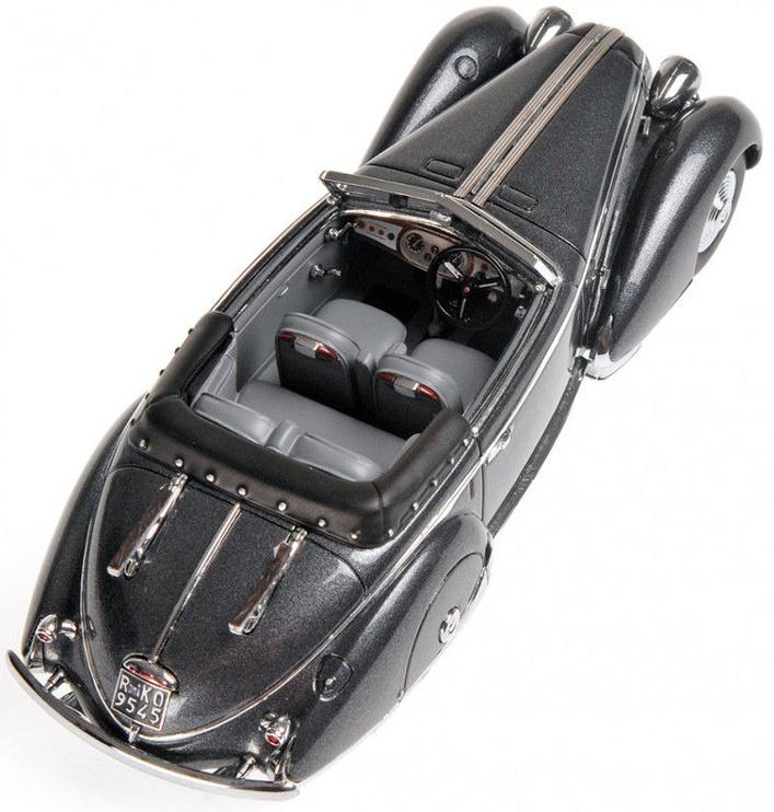 Minichamps Lancia Astura Tipo 233 1936 Corto 1:18 Gray Metallic