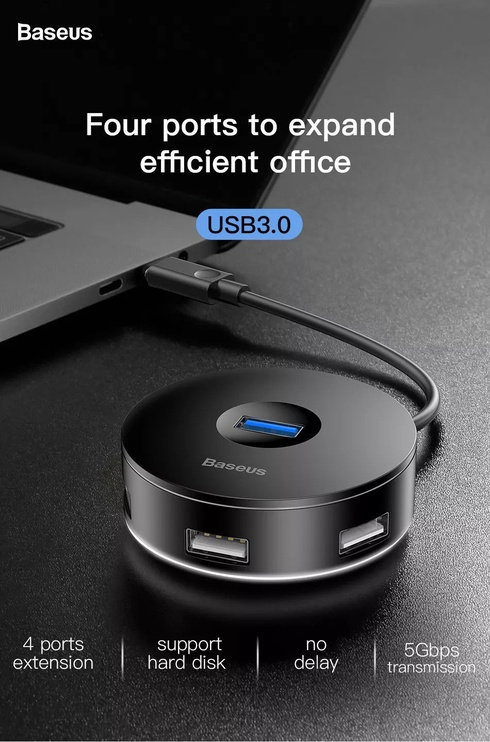 USB-разветвитель (USB-hub) Baseus CAHUB-F01