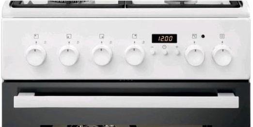 Gaasipliit elektriahjuga Electrolux EKK54506OW