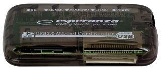 Esperanza Card Reader All in One EA117 USB 2.0