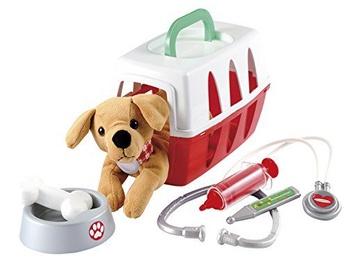 Rotaļlietu ārsta komplekts Ecoiffier Veterinary Play Set 8/1907S
