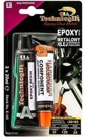 Technicqll Epoxy Cold Weld Metal Glue 2x20ml