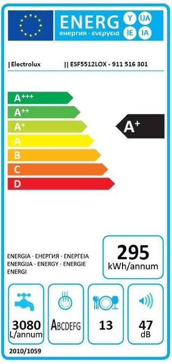 Nõudepesumasin Electrolux ESF5512LOX