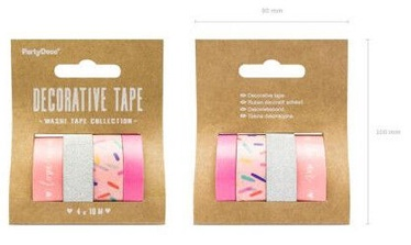 Полоски Party&Deco Decorative Tape