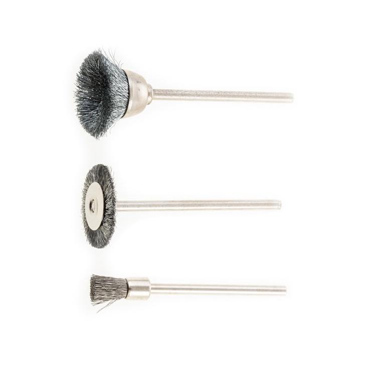Pebaro 1670 Sanding Brush Set 3pcs