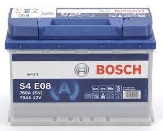 Akumuliatorius Bosch, 12 V, 70 Ah, 760 A