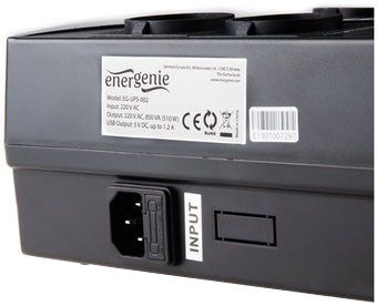 Стабилизатор напряжения (Surge Protector) Gembird EnerGenie EG-UPS-002
