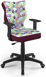 Детский стул Entelo Duo ST32 Black/Purple, 400x375x1000 мм