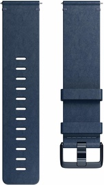 Fitbit Versa Horween Leather Band Midnight Blue Large