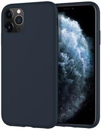 Mercury Fiber Soft Touch Matte Back Case For Apple iPhone 11 Pro Dark Blue