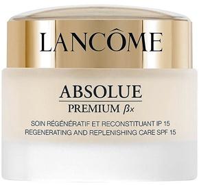 Veido kremas Lancome Absolue Premium Bx Regenerating And Replenishing Care SPF15, 50 ml