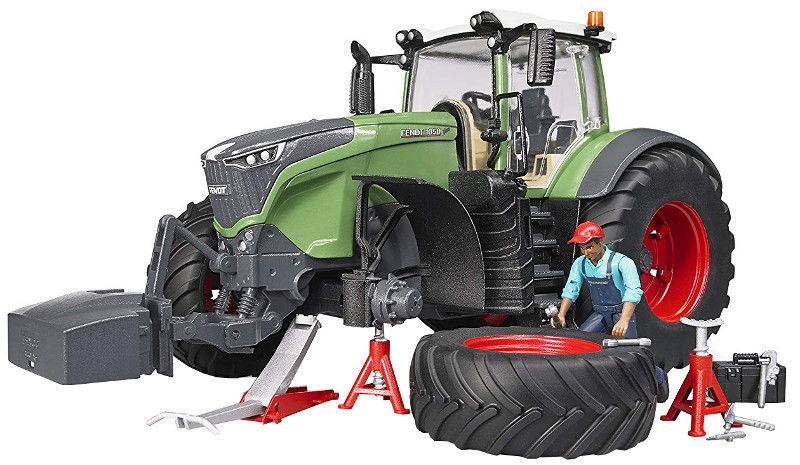 Bruder Fendt X 1000 Tractor With Repair Accessories 04041