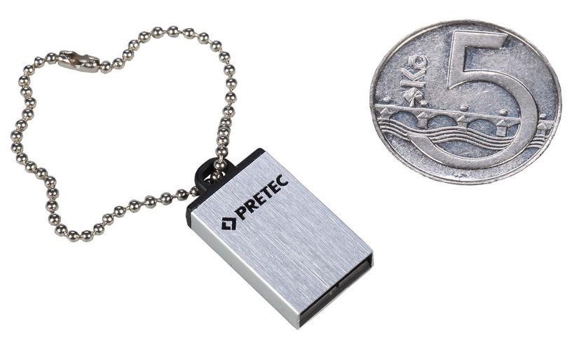 Pretec 8GB i-Disk Elite USB 2.0 Silver