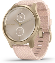 Garmin Vivomove 3 Style 42mm Nylon Gold Pink