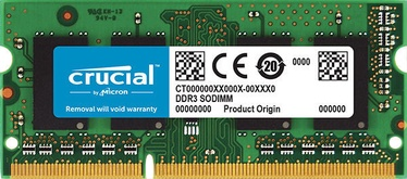 Crucial 4GB 1066MHz CL7 DDR3 SODIMM CT4G3S1067M